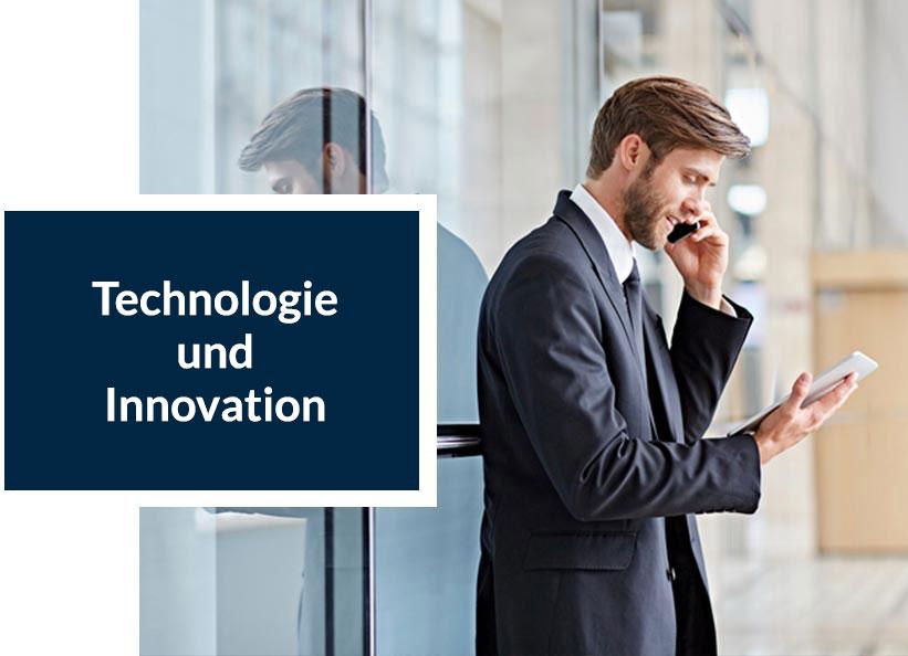 Über uns - Technologie und Innovation
